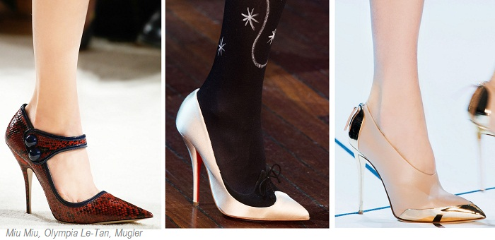 остроносые туфли
