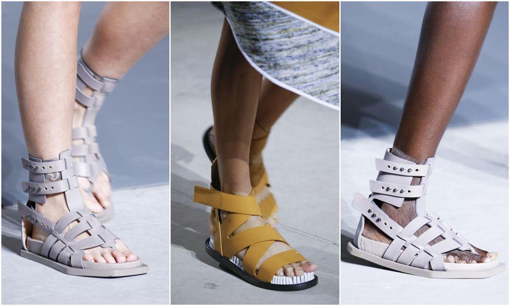 Широкие ремешки в моде