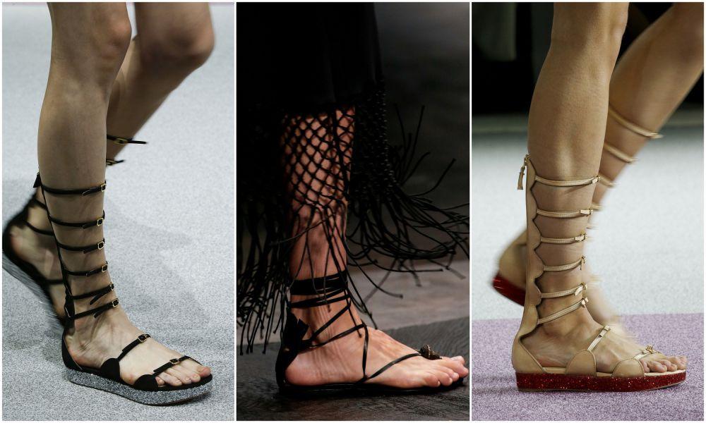 сандалии-гладиаторы