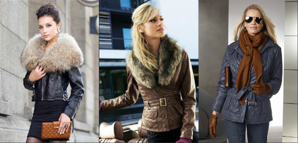 54909f305be1 Кожаные куртки на весну 2017 - fashion-in-city.ru