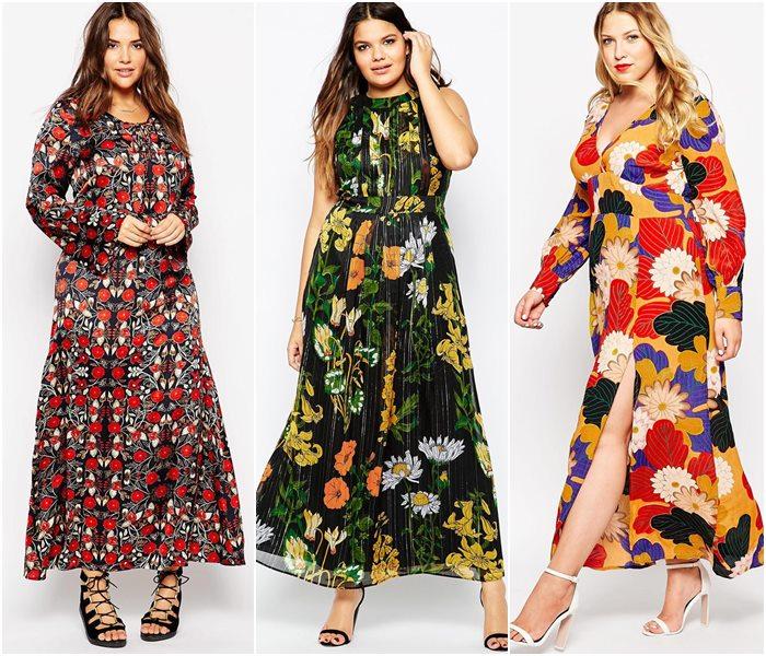 5dc72ecf7d9 Летние платья для полных женщин 2017  фото новинки