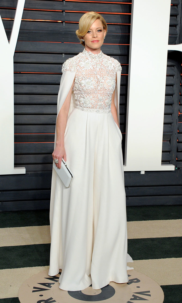 белое платье Элизабет Беэнкс