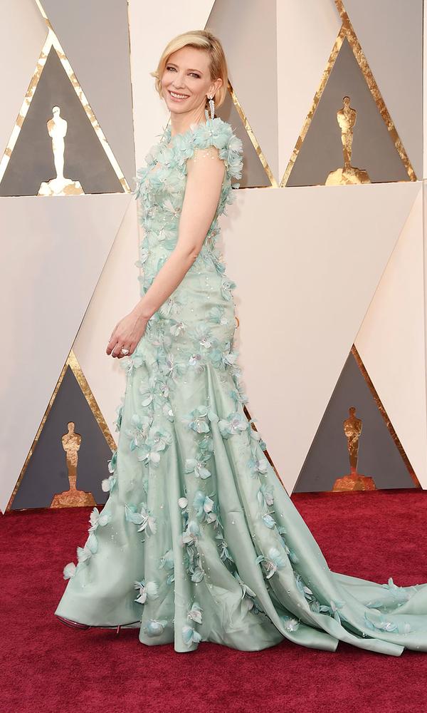 голубое платье Кейт Бланшет Оскар