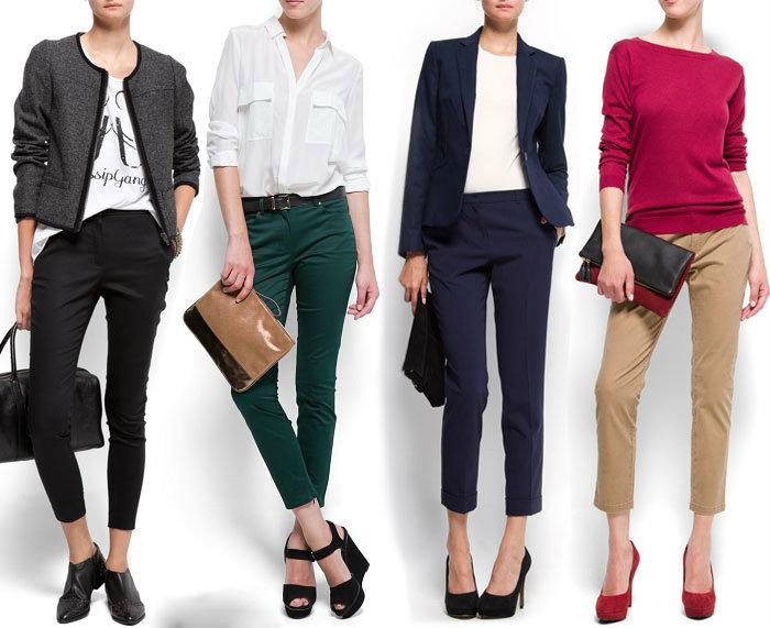 5062a7ba9 С чем носить укороченные брюки осенью и зимой: фото