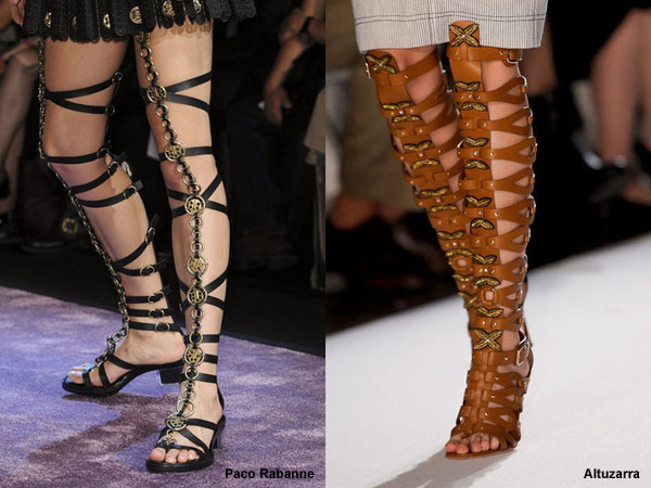 гладиаторы картинки обувь