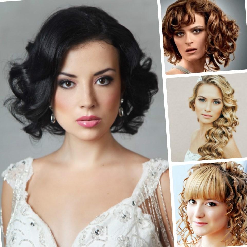 Модные вечерние причёски на средние волосы 2017 женские