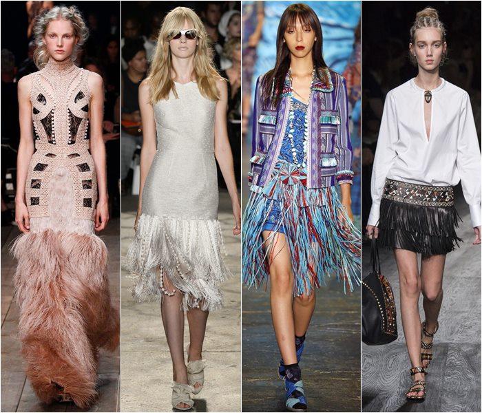 Модная отделка — бахрома