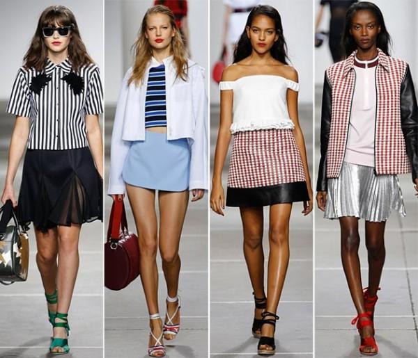Модные тренды — полоска и клетка