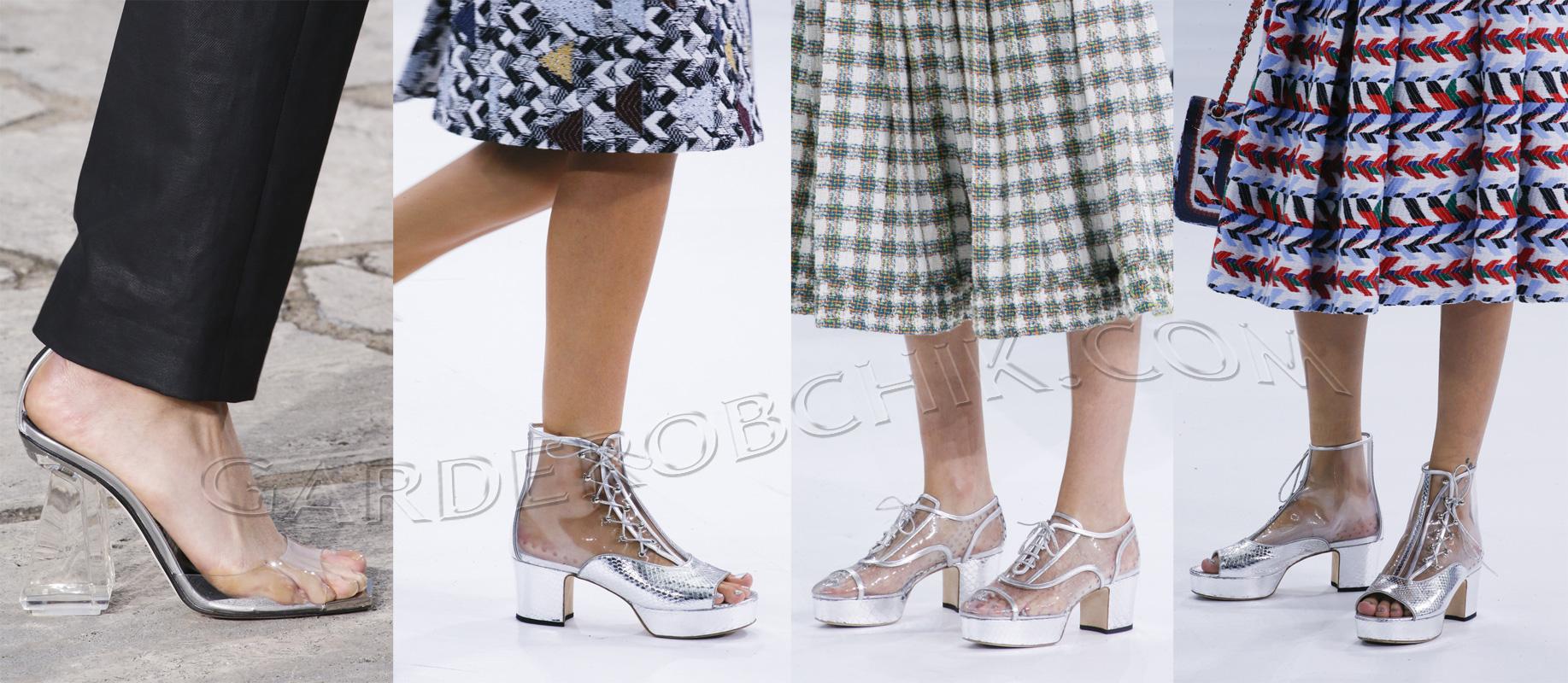 Что будет в моде весной и летом обувь фото