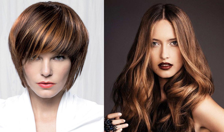 Фото причёсок и цвет волос по