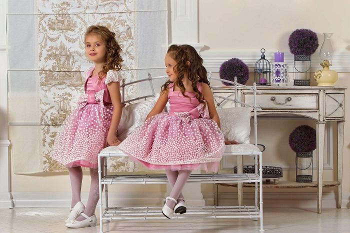 Красивые платья для девочек в детский сад