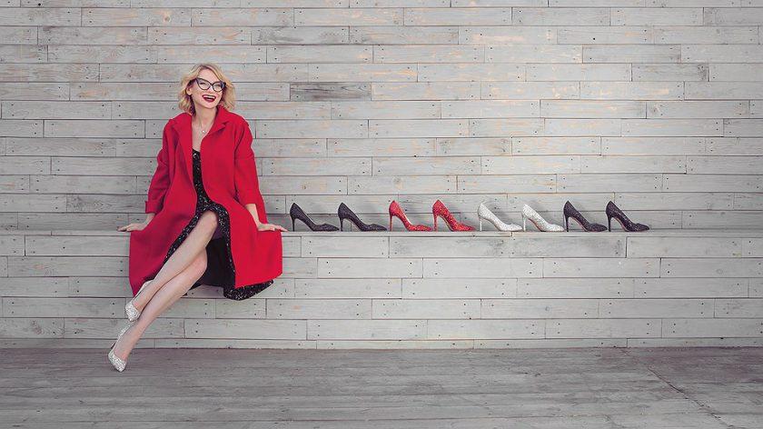 Эвелина Хромченко и новая коллекция обуви