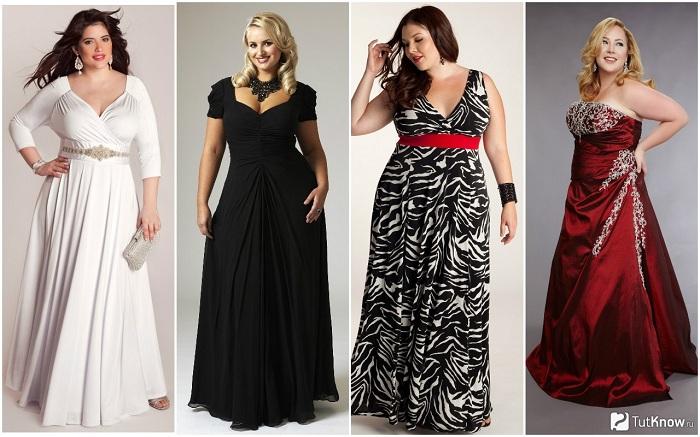 Летние платья миди для полных