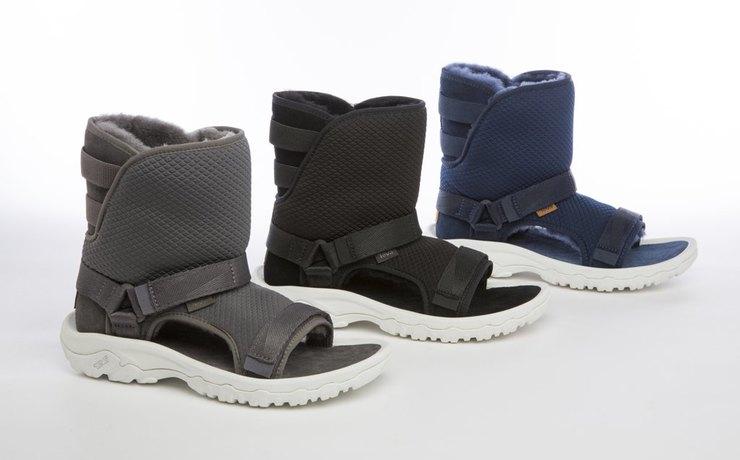 новые угги и сандалии