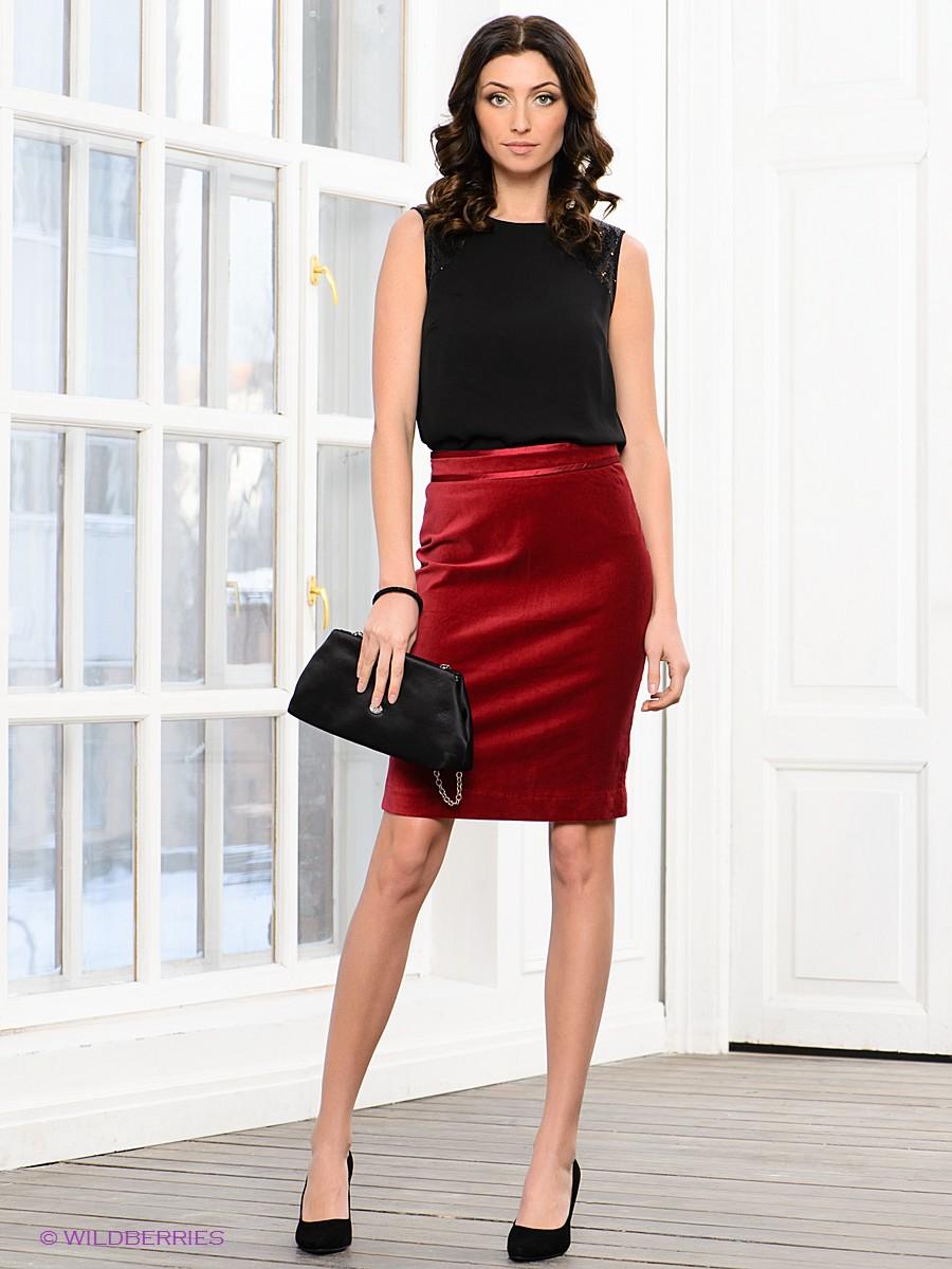 Кофты под красную юбку