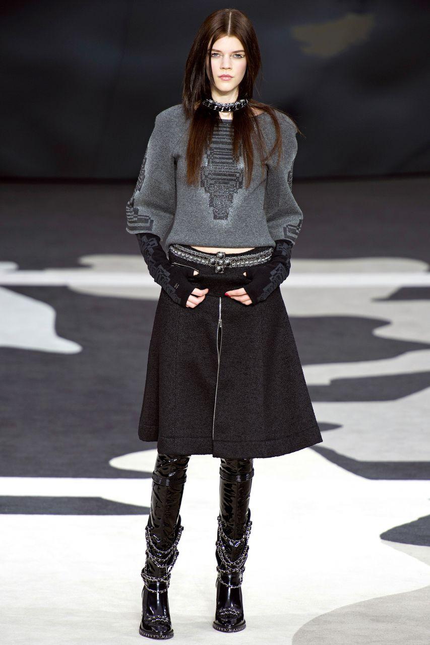 Брюки-кюлоты: с чем носить женщине - фото осенью и зимой