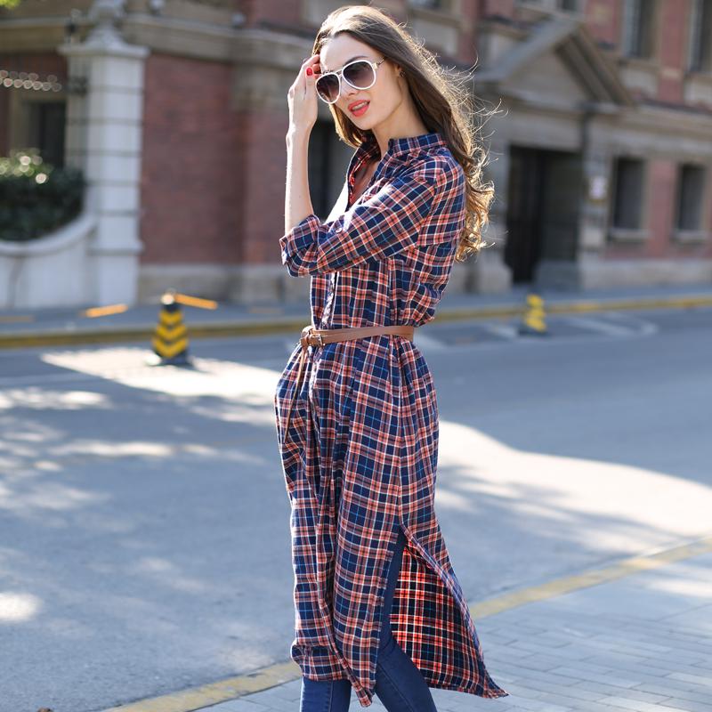 Платье рубаха из джинсах